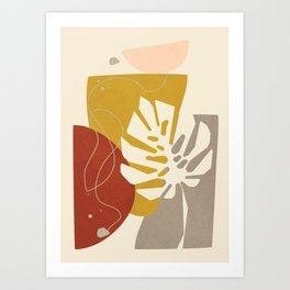 Abstract Decoration I Art Print