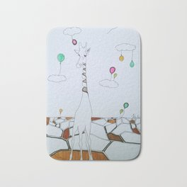 the sky is the limit Bath Mat