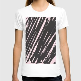 I spilled my chocolate! /geometric series T-shirt