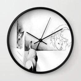 Geburtstag 2 Wall Clock