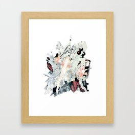 Bottle, Bottle, Axolotl Framed Art Print