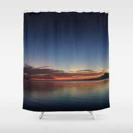 End of Day 3 Shower Curtain