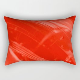 Strawberry Whole Food Syrup on My Mind! Rectangular Pillow