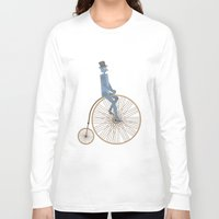 fancy Long Sleeve T-shirts featuring Fancy! by Stephanie Vanelli