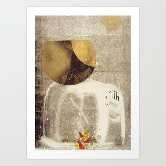 bcsm 005 (smoke signal) Art Print