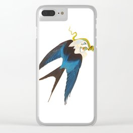 Swallow-tailed Hawk Clear iPhone Case