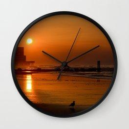 Morning Glow Wall Clock