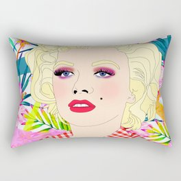 Pou-pou-pi-dou (Marilyn) Rectangular Pillow