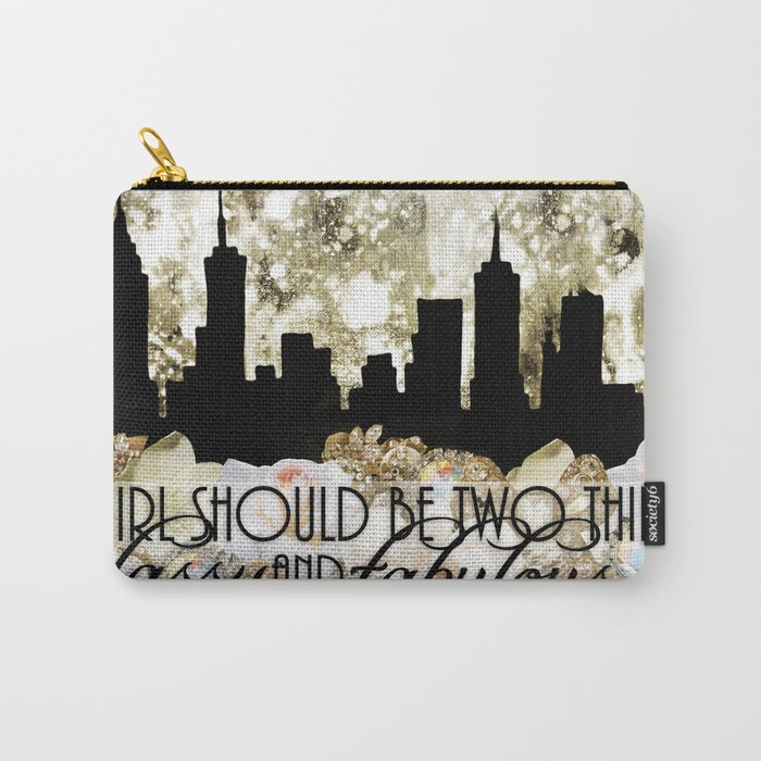 Classy and Fabulous Carry-All Pouch