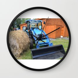 New Holland Workmaster 75 Tractor 1 Wall Clock