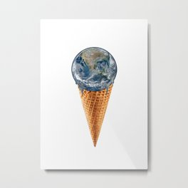 The World - I Mean Ice Cream Is Yours Metal Print