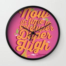 Super Duper High Wall Clock