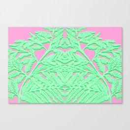 Fractal Fronds Canvas Print