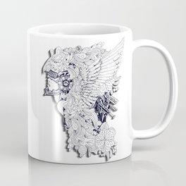 Sikelgaita Lombard Princess in Armor; Adult Coloring  Coffee Mug
