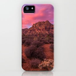 Sunrise at Red Rock iPhone Case