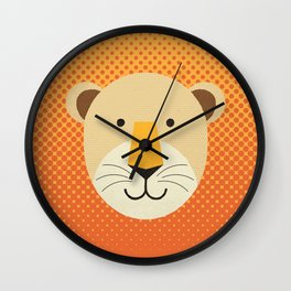 Whimsy Lion Wall Clock