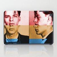 frank sinatra iPad Cases featuring Classic Frank Sinatra  by Brandon Minieri