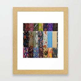 Patchwork Gypsy Framed Art Print