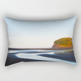 Black Sand Bethells Rectangular Pillow