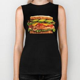 Sandwich- Turkey Bacon Avocado Biker Tank