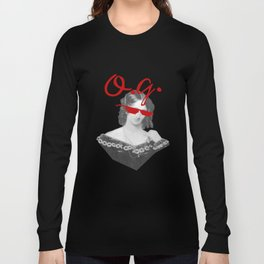 Mary Shelley, the Original Goth Long Sleeve T-shirt