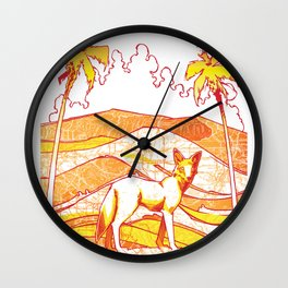 Cali Ghost Wall Clock