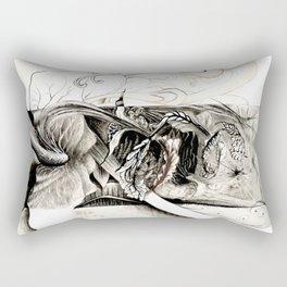 Alégorie de l'automne Rectangular Pillow