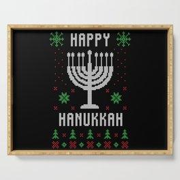 Happy Hanukkah Serving Tray