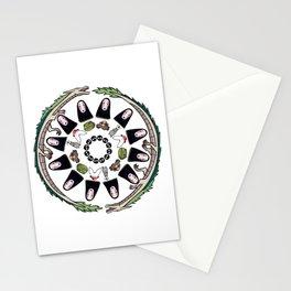SPIRITED AWAY MANDALA Stationery Cards