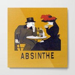 Vintage Absinthe Advertisement Metal Print
