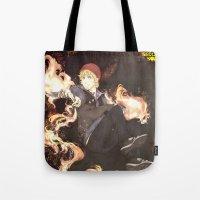 infamous Tote Bags featuring PewDiePie - Infamous by SerenaArtworks