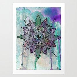 Inner Eye Art Print