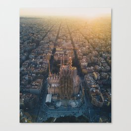 La Sagrada Familia - Barcelona, Spain Canvas Print