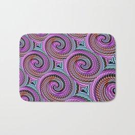 Colorful Decorative Buns #2 Bath Mat