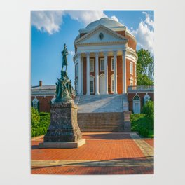 Virginia Charlottesville Campus Print Poster