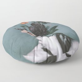 inner garden 3 Floor Pillow