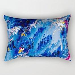 As The Universe Falls Together Rectangular Pillow