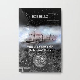 Paddleboat Italia 1 Metal Print