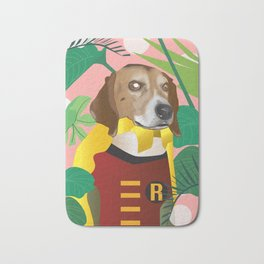 Bodie, the dog Bath Mat