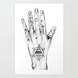 Alchemist Hand 2011 Art Print