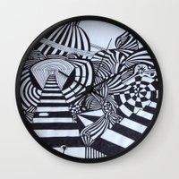 ninja Wall Clocks featuring Ninja by Biancasigns