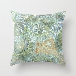 Wavellite Throw Pillow