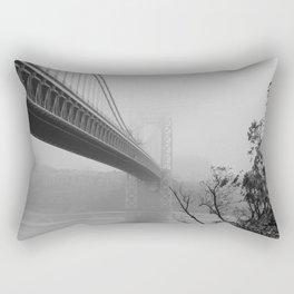 fog under the bridge Rectangular Pillow