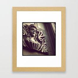 Building Ornament Detail Framed Art Print