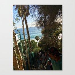 Lovely Laguna  Canvas Print