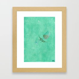 Wine Fairies 3 - Sauvignon Blanc Framed Art Print