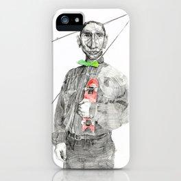 K and his alibi iPhone Case