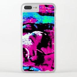 Farben-Abstrakt 2 Clear iPhone Case