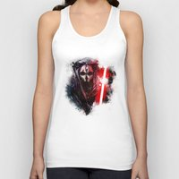 darth Tank Tops featuring Darth Nihilus by Vincent Vernacatola