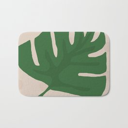 Monstera Deliciosa Bath Mat